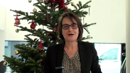 Voeux de la rectrice Nathalie Albert-Moretti aux personnels et aux enseignants pour les fêtes de fin d'année