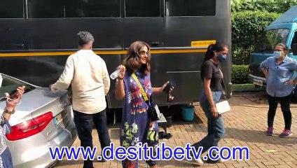 Yeh Rishta Kya Kehlata Hai Akshara Hina Khan spotted with friends in Island City