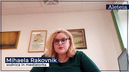 Mihaela Rakovnik, sodnica in mediatorka