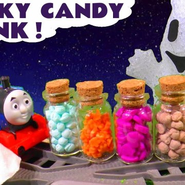 Spooky Halloween Candy Prank with the Funny Funlings and Thomas and Friends in this Family Friendly Full Episode English Toy Story for Kids from Kid Friendly Family Channel Toy Trains 4U