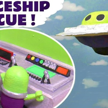 Hide and Seek Funny Funlings Spaceship Rescue with Marvel Spiderman Green Goblin in this Family Friendly Full Episode English Toy Story for Kids from Kid Friendly Family Channel Toy Trains 4U