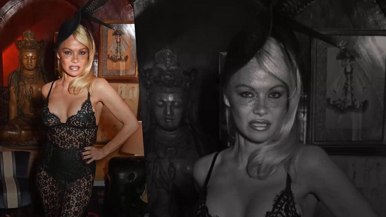 Pamela Anderson kanns noch immer: Ohne BH im Transparent