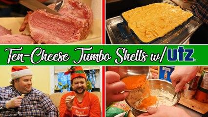 BoxMac 155: 10-Cheese Jumbo Shells with Utz