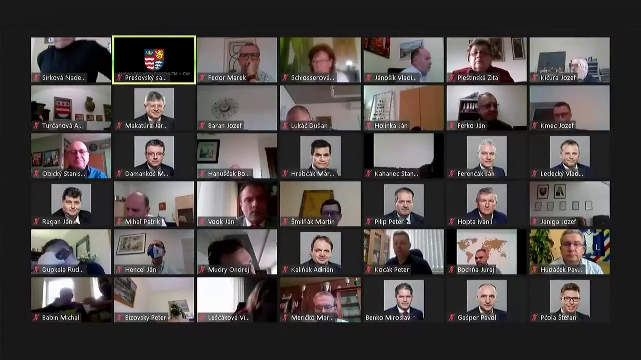PREŠOV-PSK 24: Záznam zasadnutia Zastupiteľstva Prešovského samosprávneho kraja (PSK)