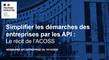Présentation des API de l'ACOSS - Simplifier les démarches des entreprises avec API Entreprise