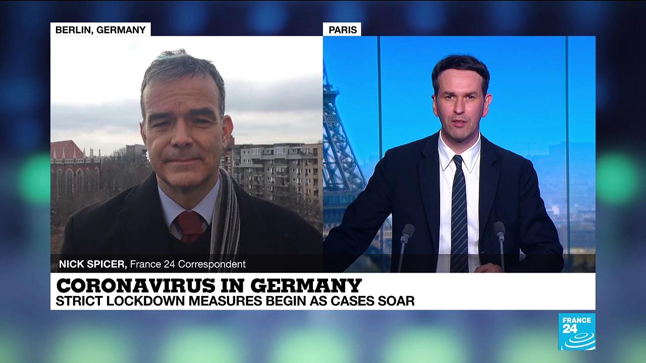 Coronavirus pandemic: German coronavirus deaths hit new high as lockdown starts