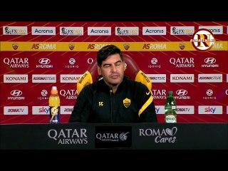 Fonseca in conferenza stampa prima di Roma-Torino