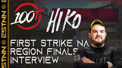 100T Hiko | Exclusive Valorant First Strike Interview