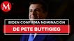 Biden nomina a Pete Buttigieg como secretario de Transporte de EU