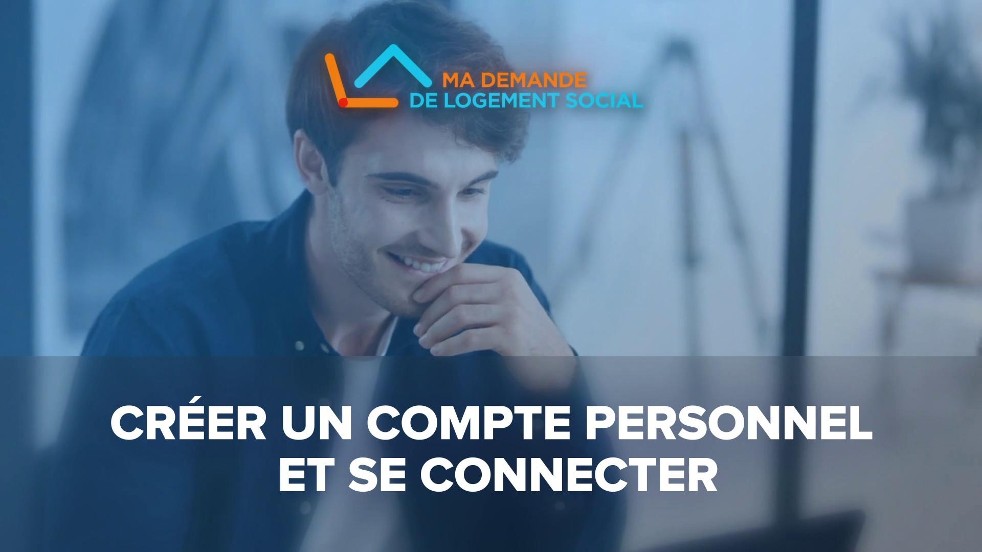 Dailymotion Video: [Tuto1] Créer un compte personnel et se connecter au site de logement social