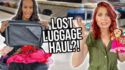 We Bought Strangers' Lost Suitcases?! * Mystery Haul *
