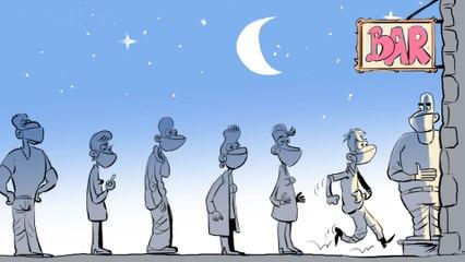 2020 en cartoons : surtout, ne pas oublier de dessiner les masques !