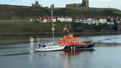 Whitby Lifeboat Rescue