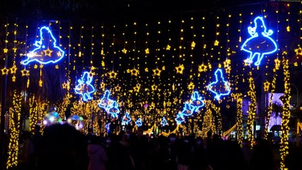 Taiwan celebrates Christmas with Disney-themed festival to brighten shadows of Covid-19 pandemic