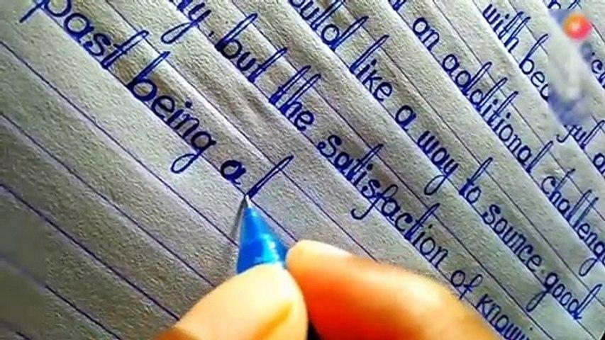 World best Handwriting2020