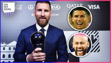 Les votes de Lionel Messi au trophée FIFA The Best font parler le monde entier   Oh My Goal