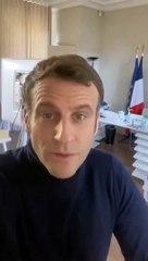 Macron infecté par la COVID-19 a un message pour les français