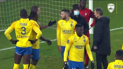 Le résumé de FCSM-Grenoble Foot (1-1)