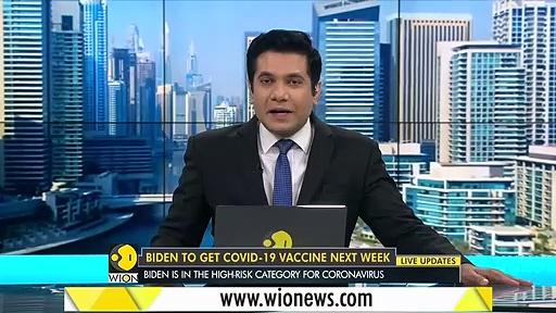 Joe Biden to get COVID-19 vaccine next week _ World News _ WION News
