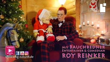 Weihnachtsgrüße von Bauchredner ROY REINKER & Opa Siegfried - von Karrideo Image- und Eventfilmproduktion ©®™ für WBG Zukunft eG