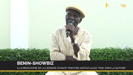 Bénin: à 85 ans, la légende « Timo, Papa La Guitare » revient sur ses célèbres chansons
