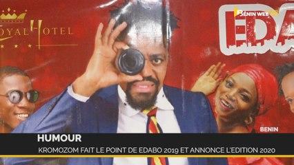 Bénin-Humour : Kromozom fait le point de Edabo 2019 et annonce l'édition 2020