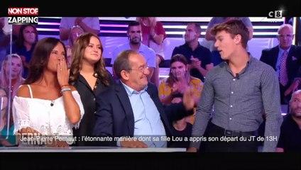 Jean-Pierre Pernaut : l'étonnante manière dont sa fille Lou a appris son départ du JT de 13H (vidéo)