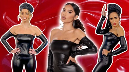 Trying WTF Leather Outfits From Fashion Nova!?