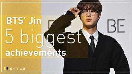 BTS' Jin's 5 biggest achievements