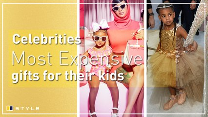 The most expensive gifts celebrities have bought for their kids
