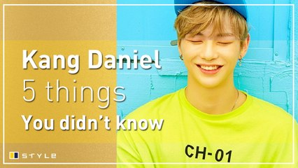 5 things you didn't know about Kang Daniel
