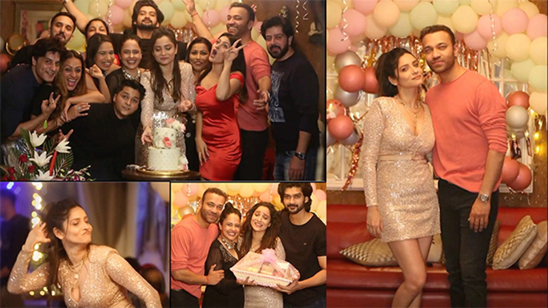 Ankita Lokhande's Birthday Dance With Boyfriend Goes Viral | Garmi Song