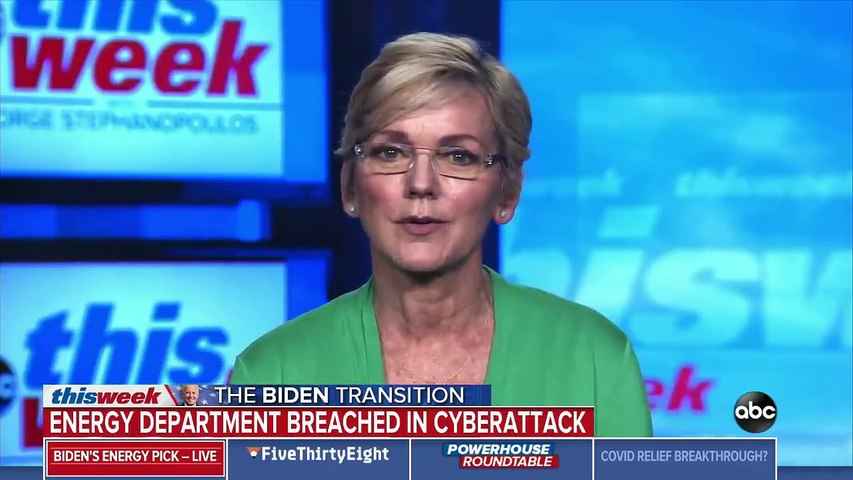Biden will 'have a robust response' to cyberattack- Granholm