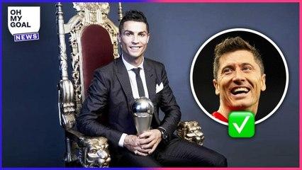 Les votes de Cristiano Ronaldo au trophée The Best montrent l'homme qu'il est   Oh My Goal