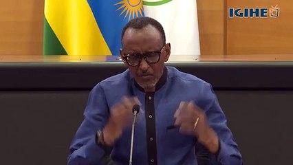 Perezida Kagame yagaragarije Abanyarwanda uko igihugu gihagaze
