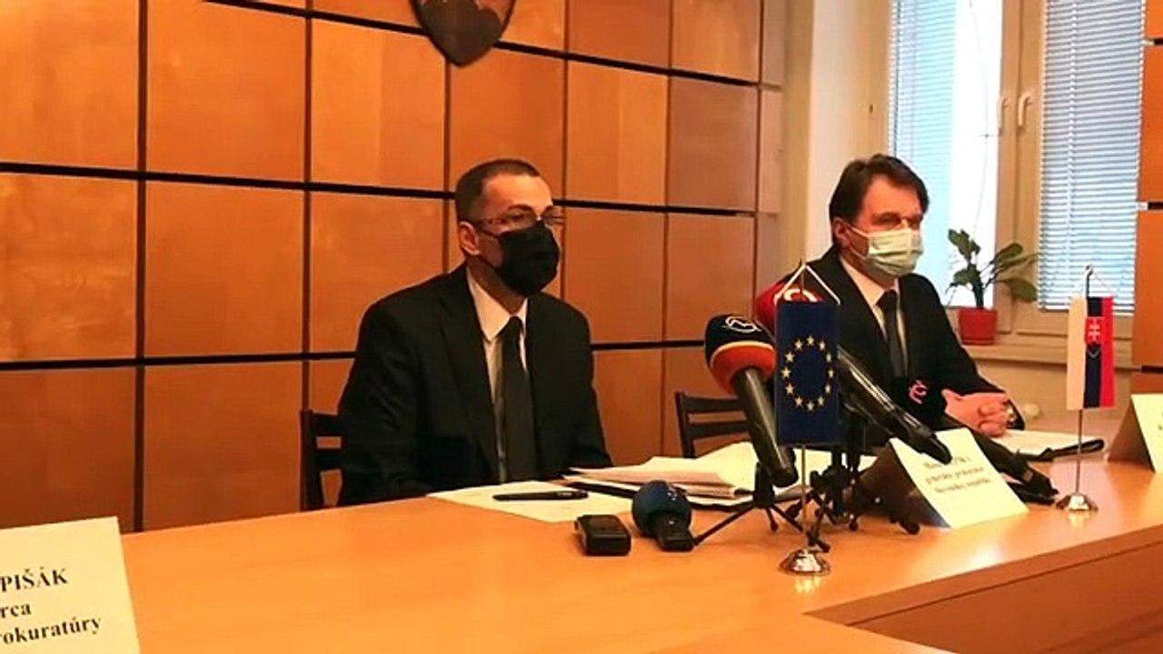 ZÁZNAM: TK generálneho prokurátora M. Žilinku
