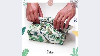 Paké : comment plier son furoshiki ? Présentation