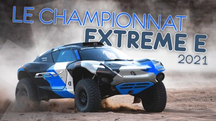 Le championnat Extreme E 2021