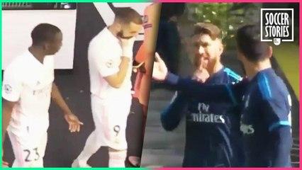 Les 5 clashs les plus incroyables au Real Madrid   Oh My Goal