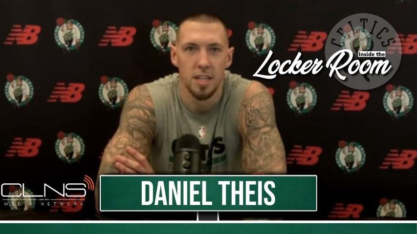 Daniel Theis Previews Celtics Season, Bucks Matchup