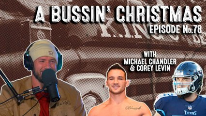 FULL VIDEO: Bussin' With The Boys - A Bussin' Christmas, Nebraska Talk, Raiders Talk, Michael Chandler