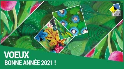 Meilleurs voeux du conseil départemental  de Meurthe-et-Moselle pour l'année 2021