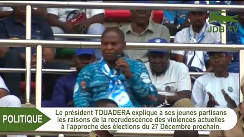 ELECTION EN CENTRAFRIQUE : TOUADERA PREND LA PAROLE FACE AU MOUVEMENT CITOYEN