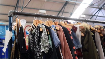Recycled Preloved Larbert High School's fashion collaboration with Strathcarron Hospice