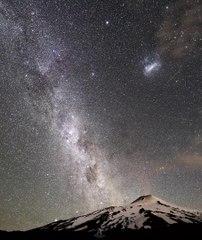 Timelapse nocturno de la lluvia de estrellas de las Gemínidas 2020
