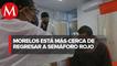 Morelos, a semáforo rojo de covid-19 en 48 horas si no se siguen medidas sanitarias