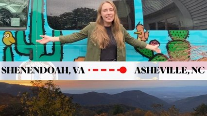A Picturesque Road Trip in a Camper Van Through Shenandoah and the Blue Ridge Parkway