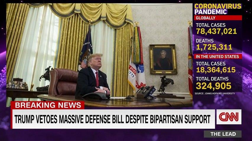 Why Trump vetoed bipartisan defense spending bill