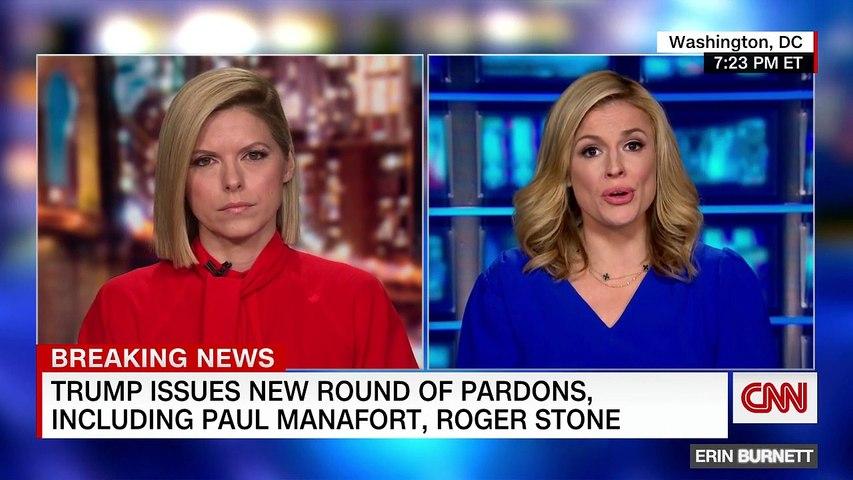 Trump pardons Paul Manafort, Roger Stone and Kushner's father