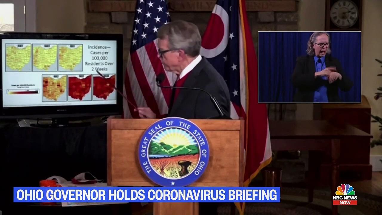 Ohio Gov. DeWine Holds Coronavirus Briefing – NBC News